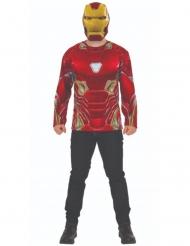 Maglia e maschera da Iron Man™ Infinity War™ per adulto
