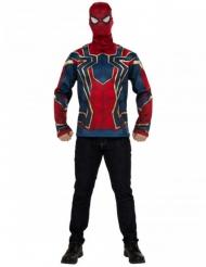 Tshirt con maschera Iron Spider Infinity War™ per adulto