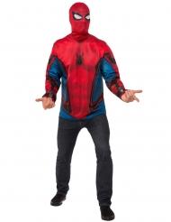 Maglia e Maschera Spiderman Homecoming™ per adulto