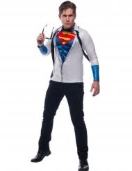 Maglia con cravatta da Superman™ per adulto