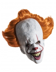 Maschera in latex con parrucca di It™ per adulto