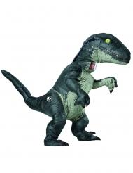 Costume gonfiabile e sonoro Velociraptor Jurassic World Fallen Kingdom™ adulto
