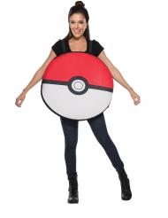 Costume da Pokeball™ per adulto