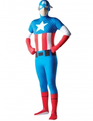 Costume seconda pelle Capitan America™ adulto