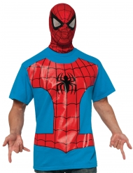 Tshirt con passamontagna Spiderman™ per adulto