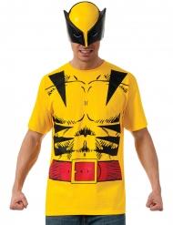 T-shirt e maschera da Wolverine™ per adulto