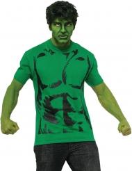 Tshirt con parrucca Hulk™ per adulto