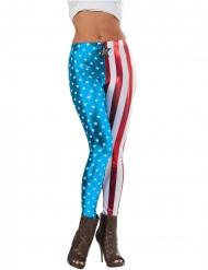 Legging metallizzato Capitan America™ donna