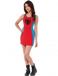 Costume vestito rosso e blu Spider-Girl™ donna