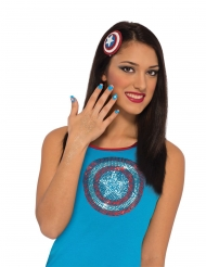 Kit trucco Captain America™ per donna