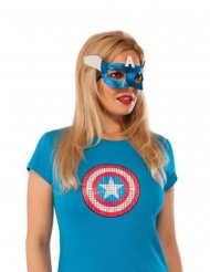 Maschera Captain America™ per donna
