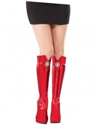 Copri stivali Captain America™ per donna