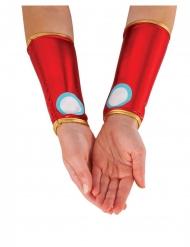 Polsini metallizzati Iron Man™ donna