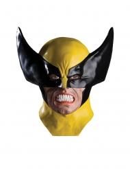 Maschera in lattice deluxe Wolverine X-Men™ adulto