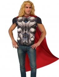 Petto muscoloso con mantello Thor™ adulto