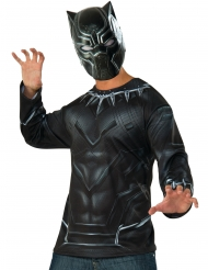 Maglia e maschera Black Panther Capitan America Civil War™ Adulto