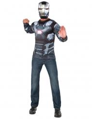 Maglia e Maschera War Machine Captain America Civil War™ adulto