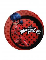 8 Piatti di carta Ladybug™ Miraculous
