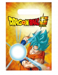 6 Buste regalo Dragon Ball Super™ 23 x 16 cm