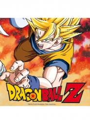 20 tovaglioli di carta Dragon BallZ™ 33 x 33 cm