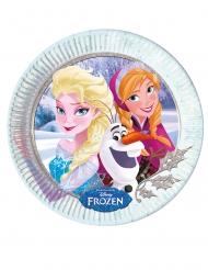 8 Piatti in cartone di Frozen™