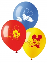 10 palloncini colorati Topolino™ in lattice