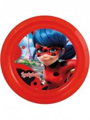 Piatto piano in plastica rigida Ladybug™ 21 cm