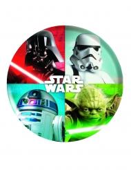 Piatto in plastica melamina Star Wars™