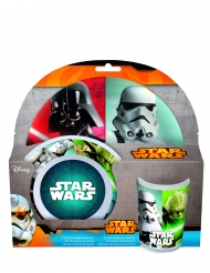 Set 3 pezzi per colazione in plastica melamina Star Wars™
