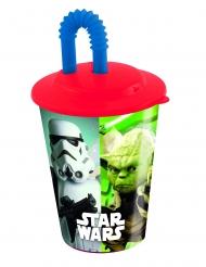 Bicchiere con cannuccia in plastica Star Wars™