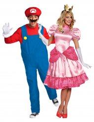 Costume di coppia Principessa Peach™ e Supermario™
