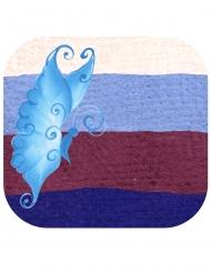 Trucco Split Cake Farfalla blu