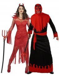 Costume coppia di demoni per adulti