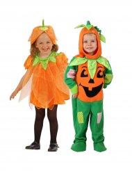 Costume coppia di zucche di halloween per bambini