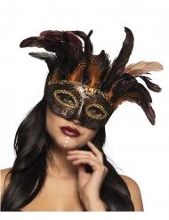 Mascherina voodoo veneziana per donna