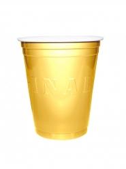 20 Bicchieri dorati Original Cup 53 cl