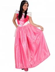 Costume da principessa rosa per donna