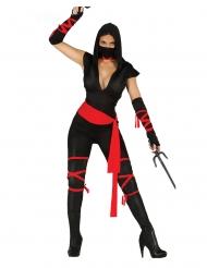 Costume da ninja provocante per donna