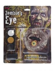 Trucco occhio da zombie per adulto