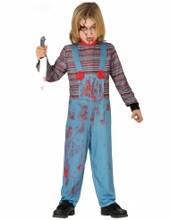 Costume da bambola malefica per bambino