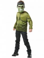 T-shirt e maschera di Hulk™ per bambino
