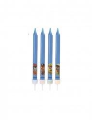 4 candeline di compleanno Paw Patrol™ blu