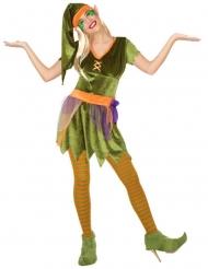 Costume da folletto dei boschi per donna
