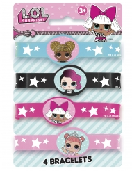 4 Bracciali Elastici Lol Surprise™