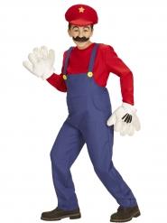 Costume da super idraulico rosso per bambino