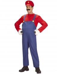 Costume da super idraulico per uomo