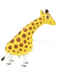 Palloncino in alluminio giraffa che cammina