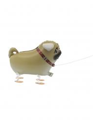 Palloncino in alluminio cane che cammina