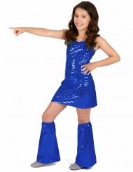 Costume disco blu notte per bambina