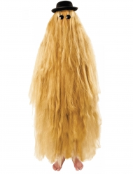 Costume dai lunghi e folti capelli per adulto